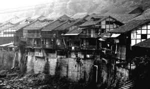 传统重庆吊脚楼