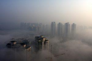 雾都重庆清晨